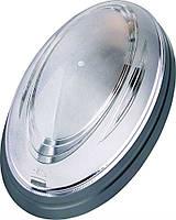 Светильник HOROZ ELECTRIC 26W (Нінова) Овал Серебро
