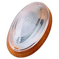 Светильник HOROZ ELECTRIC 26W (Нінова) Овал Бук