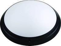 Светильник Круг Опал HOROZ ELECTRIC ІР65 (Акуа) Черный