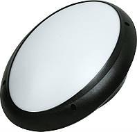 Светильник Овал Опал HOROZ ELECTRIC ІР65 (Акуа) Черный