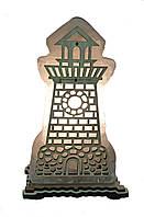 Соляной светильник маяк