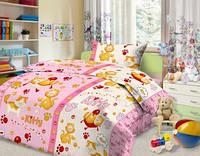 Комплект постельного детского белья бязь - 4642/2 роз. Китти