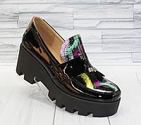Туфли с кисточкой. Натуральная кожа 0087