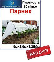 Парник 6 м (мини-теплица) 60 г/кв м