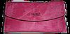 Практичный женский кошелек YA MEI розового цвета VVX-090040