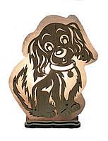 Соляной светильник Собака большая