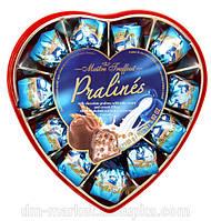 Шоколадные конфеты с молочно-кремовой начинкой Maitre Truffout, 165 г