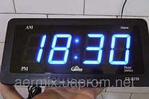 6c44d3817202 Часы электронные Caixing CX 2159, электронные часы с ярким светодиодным LED  дисплеем, часы настенно