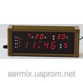 Часы LED ZX-13M с будильником и термометром, часы настольные электронные, светодиодные электронные часы