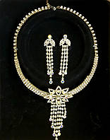 Женская бижутерия комплект №104 колье и серьги