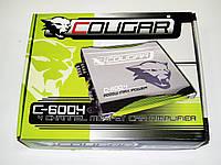 Усилитель Cougar 600.4 2000Вт 4-х канальный , фото 1