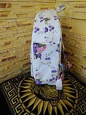 """Рюкзак  женский """"Сиреневый букет (ранец)"""", фото 2"""