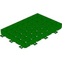 Решётка газонная пластиковая зеленая 8100-3
