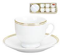 Набор кофейный (6 чашек и 6 блюдец) 382-107