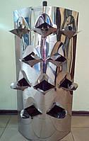 Вертикальная грядка для клубники