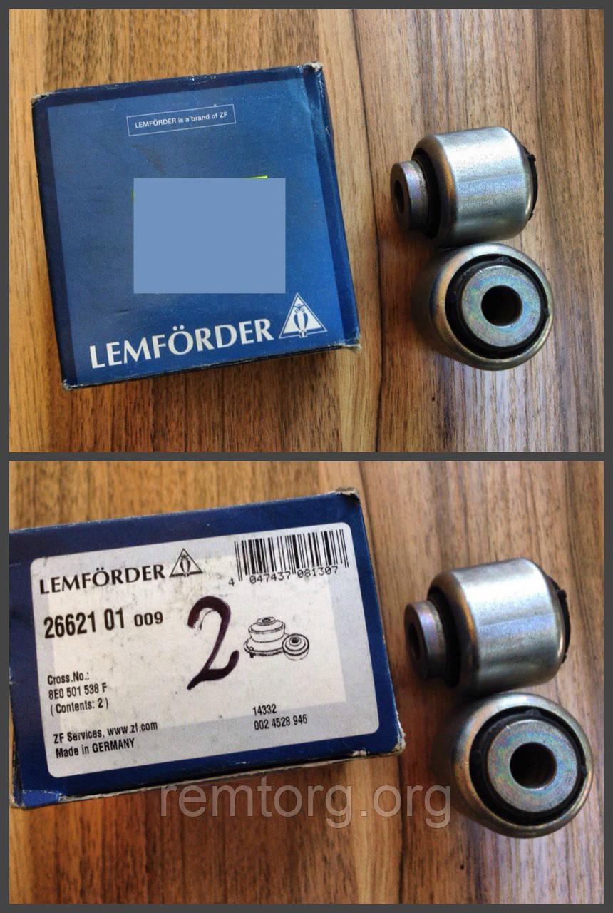 Сайлентблок рычага (пр-во LEMFORDER), 26621 01