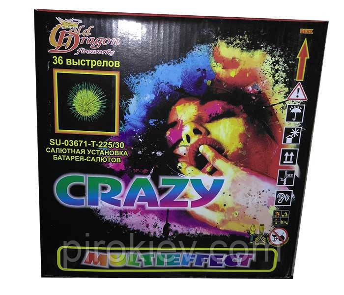 "Фейерверк ""Crazy"" SU-03671"