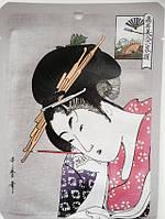 Японская восстанавливающая маска для лица Арбутин + Литоспермум, MITOMO 1 штука, фото 1
