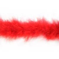 Боа марабу .Цвет красный. Длинна 1,9м