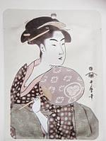 Японская регенерирующая маска для лица Маточное Молочко Royal Jelly + Экстракт цветков Сакуры, MITOMO 1 штука, фото 1