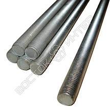 Шпилька M12x1000 DIN 975 класс прочности 5.8 | Размеры, вес, фото 3