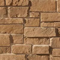 """Декоративний камінь бетонний, SL 07141 """"Стіна Кріпосна коричнева"""""""