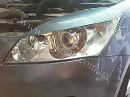 Установка биксеноновых линз G5 на Kia Ceed 2