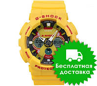Часы Casio G-Shock GA-120 YELLOW