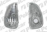 Указатель поворотов в зеркало левый Renault Master 3 / Opel Movano B  TYC