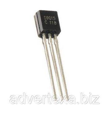 S9015 транзистор биполярный PNP в корпусе TO-92