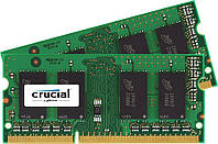 Crucial 16GB Kit (2x8GB) DDR3L 1600Mhz SODIMM Memory for Mac чип Micron Technology