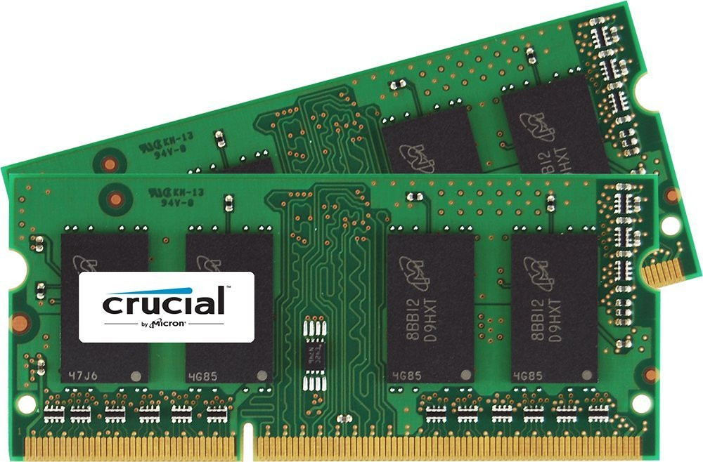 Crucial 16GB Kit (2x8GB) DDR3L 1600Mhz SODIMM Memory for Mac чип Micron Technology - Top-Device в Киеве