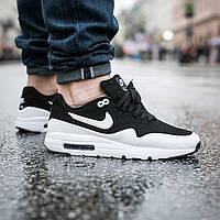 Кроссовки мужские Nike Air Max 1 Ultra Moire Black/White
