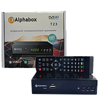 Цифровой эфирный ресивер Alphabox T23 DVB-T2