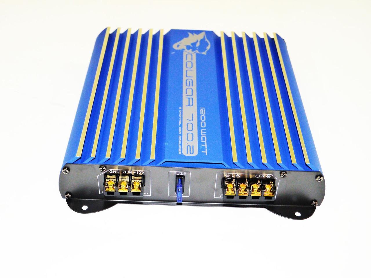 Усилитель  Cougar 700.2 1200Вт 2-х канальный