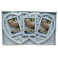Мультирамка LOVE  пластиковая,коллаж (рамки для фотографий на стену)3/10х15см.
