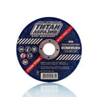 Круг (диск) отрезной ТИТАН АБРАЗИВ 125х1,6х22 (ТА1251622)