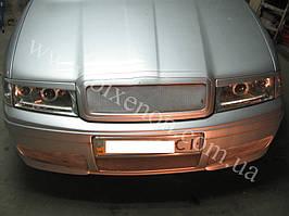Установка биксеноновых линз G5 с глазами на Skoda Octavia tour 4