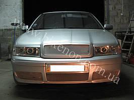 Установка биксеноновых линз G5 с глазами на Skoda Octavia tour 6