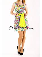Платье повседневное, женское платье сатиновое