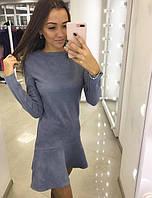 Красивое молодежное платье 8874