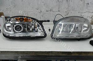 Установка биксеноновых линз G5 с глазами на Chevrolet Niva 1