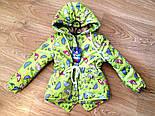 Детская стильная куртка-парка (расцветки), весна/осень, фото 2