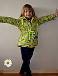 Детская стильная куртка-парка (расцветки), весна/осень, фото 3