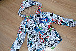 Детская стильная куртка-парка (расцветки), весна/осень, фото 4