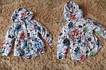 Детская стильная куртка-парка (расцветки), весна/осень, фото 5