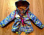 Детская стильная куртка-парка (расцветки), весна/осень, фото 6