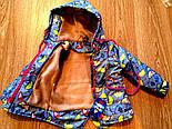 Детская стильная куртка-парка (расцветки), весна/осень, фото 7