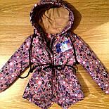 Детская стильная куртка-парка (расцветки), весна/осень, фото 8