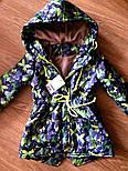 Детская стильная куртка-парка (расцветки), весна/осень, фото 9